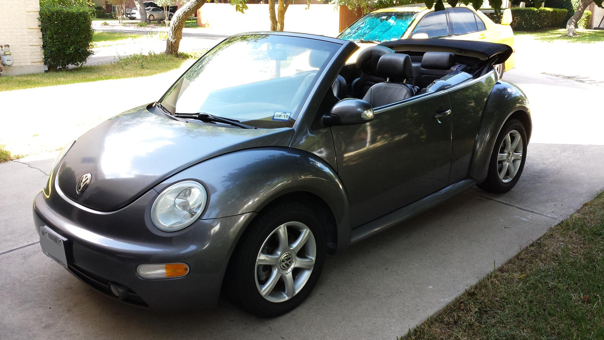 2005 Volkwagen Beetle Turbo Convertible