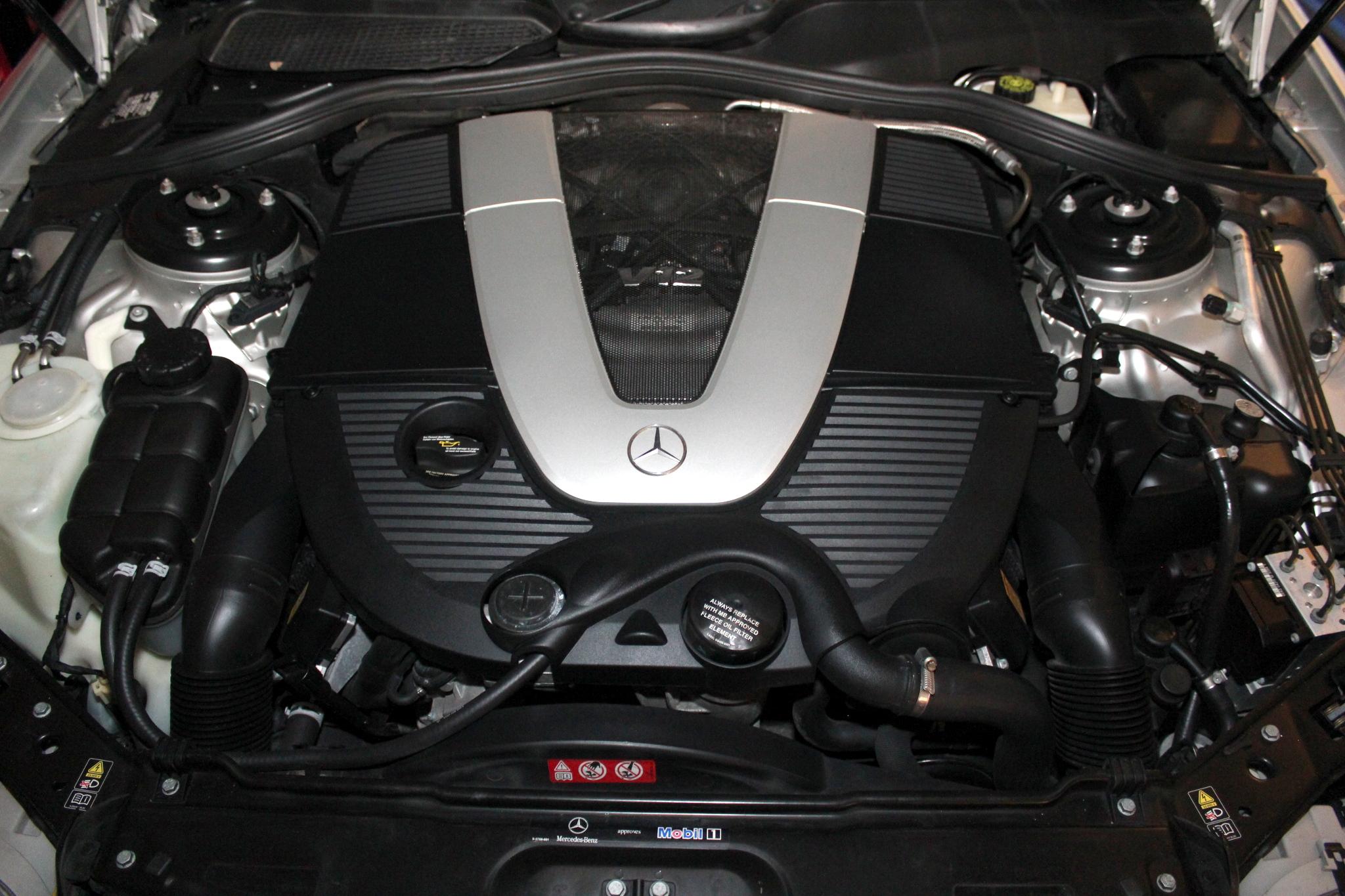 2005 Mercedes Benz Cl600 Fuel Filter Location